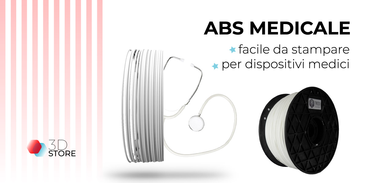 filamento abs medicale stampa 3d store monza