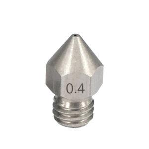 nozzle mk8 acciaio 0,4mm nozzle creality stampa 3D store monza