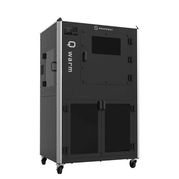 sharebot qwarm stampante 3d camera calda 3d store monza