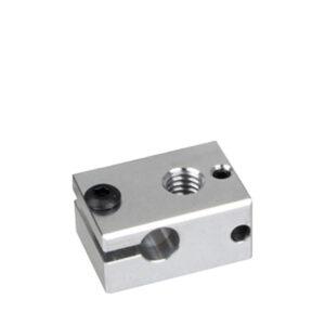 blocchetto alluminio estrusore v6 stampante 3d store monza