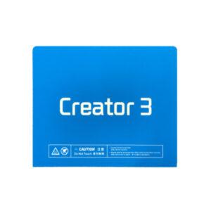 buildtak flashforge creator 3 stampante 3d store monza