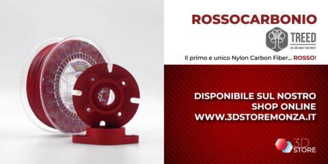 rossocarbonio nylon carbonio rosso