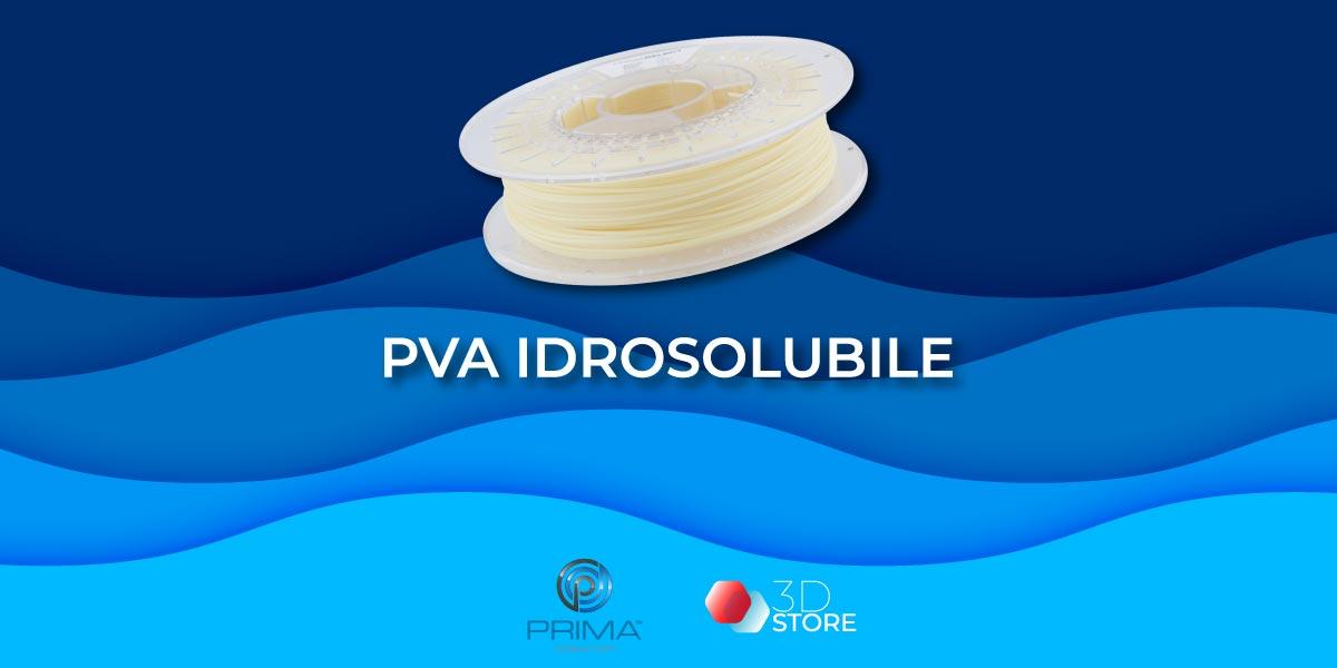 Filamento idrosolubile PVA per stampa 3D: tutti i vantaggi