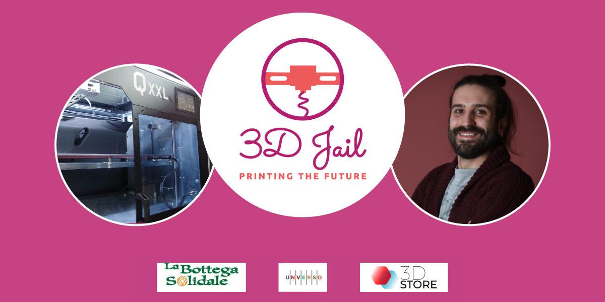 3D Jail, la stampa 3D in carcere: tra i relatori c'è anche 3D Store Monza