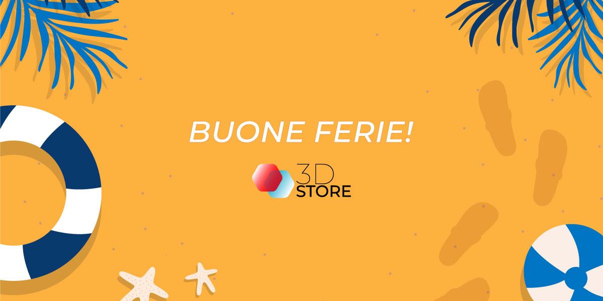 3D Store Monza chiude dal 9 agosto al 23 agosto (compresi)